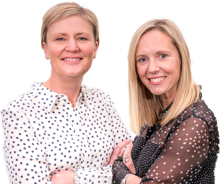 Partners Tiggy Clifford and Emma Whiting
