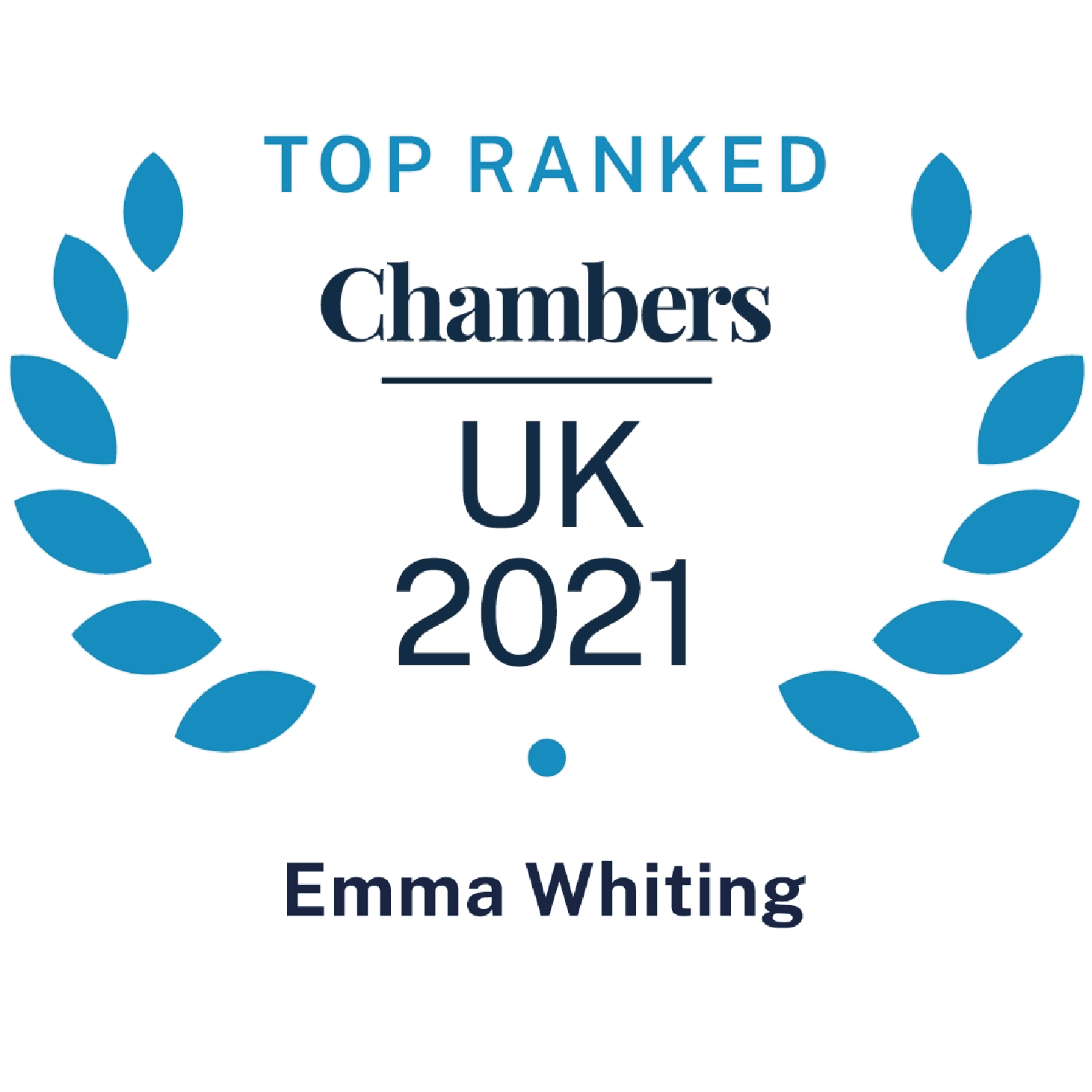 Chambers Top Ranked UK 2021